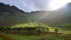 Sunshine over High Crag