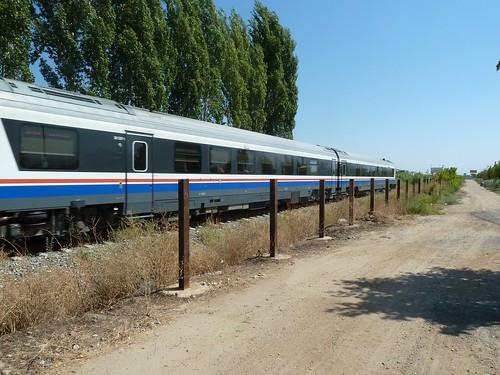 Train between Aydin and Denizli, headed towards Denizli by mattkrause1969