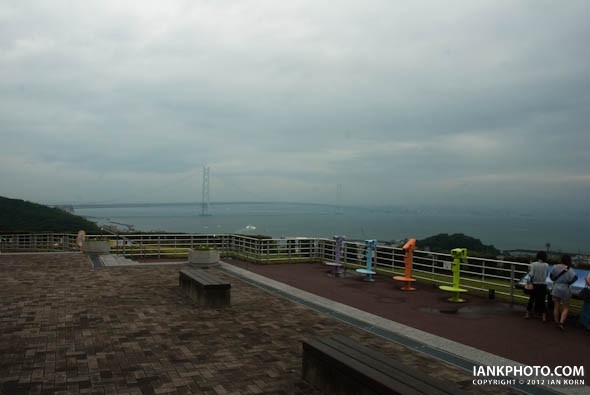 Akashi Kaikyo Bridge, Awaji Island, Japan