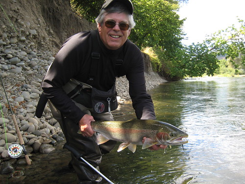 Willamette river ethan nickel outfitters for Mckenzie river fishing report