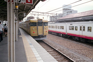 普通 和気行き, 尾道駅 / Local train to Wake, Onomichi sta.