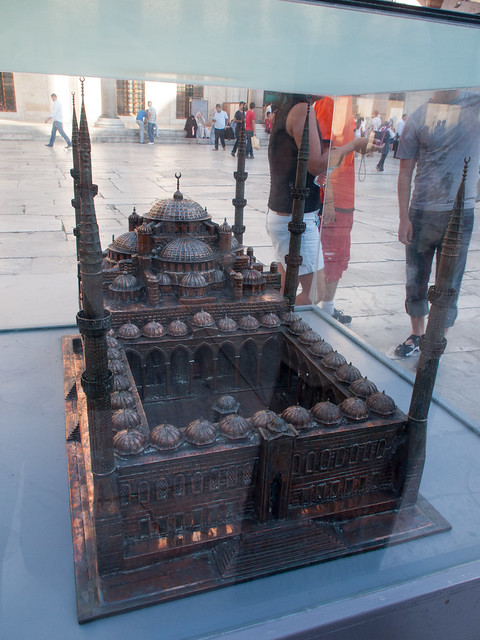 Model of Blue Mosque