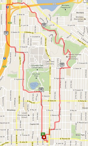 Today's awesome walk, 4.92 miles in 1:30ish by christopher575