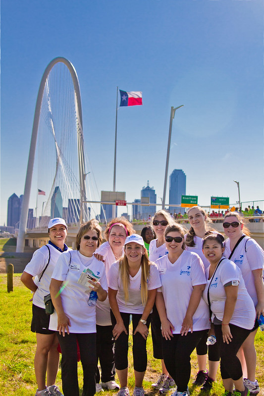 Dallas Heart Walk - Jenny Craig Group Photo