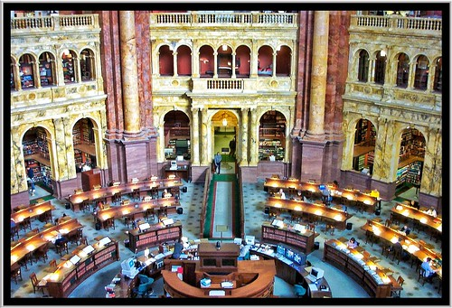 Washington DC ~ Reading Room ~ Library of Congress