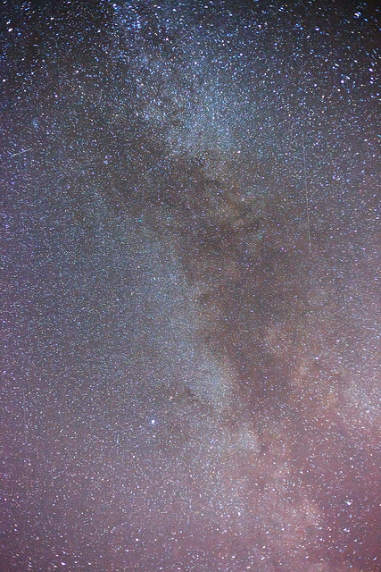 Milky way with a Canon Eos 5D MK II