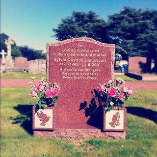 Mum's grave