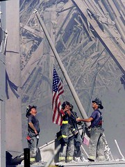 Inspiration for 35/52 | Troopers Raising the Flag at Ground Zero