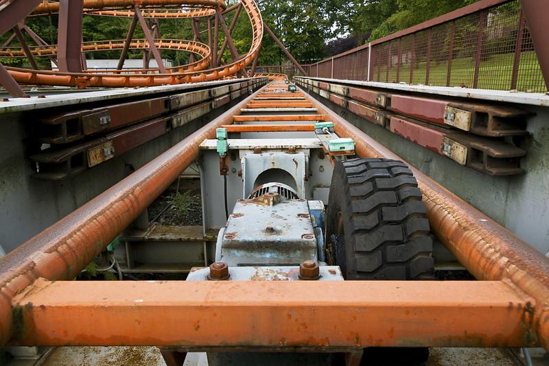 Loudoun Castle Rollercoaster Brakes