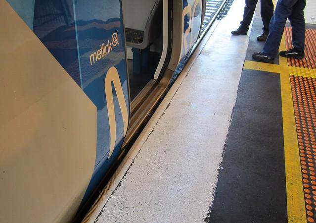 Flinders Street station platform 1: gapfiller