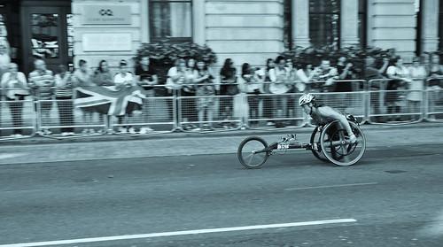 London 2012 Paralympic Marathon - Embankment