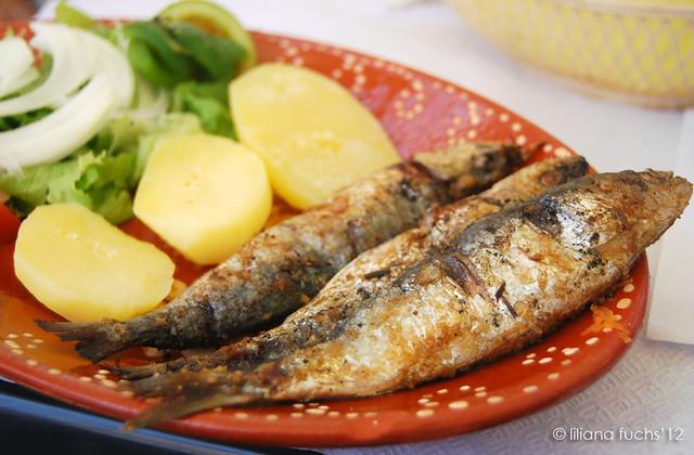 Sardinas en Oporto