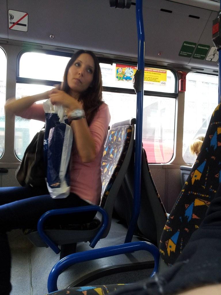 Voyeur Im Bus