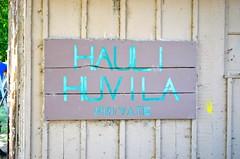 Hauli Huvila Sign