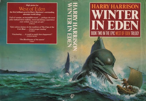Winter in Eden by Harry Harrison. Guild Publishers 1986. Cover artist Gino D'Achille