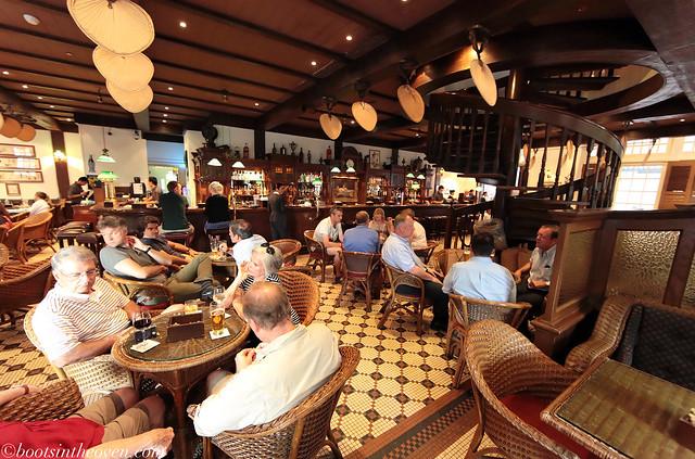 At the Long Bar, Raffles Hotel
