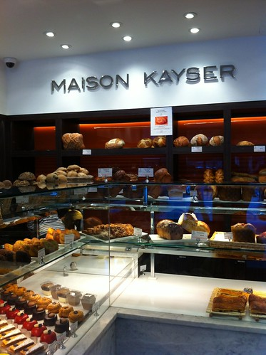 Interior of Maison Kayser