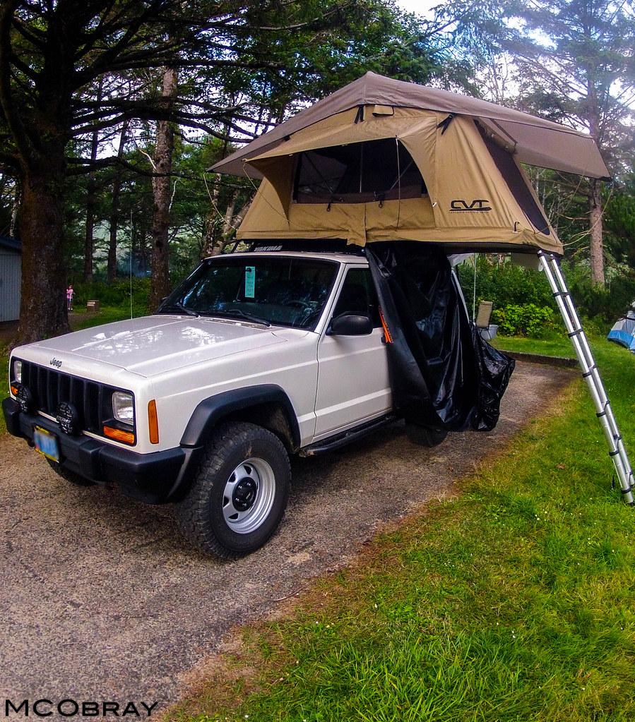 '99 Jeep XJ.