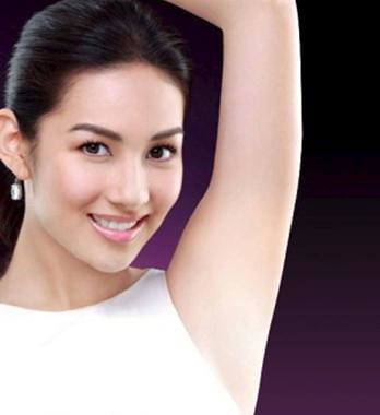 Avoid dark underarms
