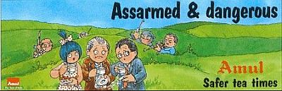 why the amul moppet is scared The amul moppet (shown in picture), with her utterly-butterly-delicious looks, has been the darling of consumers across the country, despite courting occasional controversies but beyond these ads, amul does not spend much on advertising to keep the cost of the products affordable, just about 1 per cent of its turnover is spent on ads and.