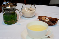 The Ledbury - Mint tea and petit fours