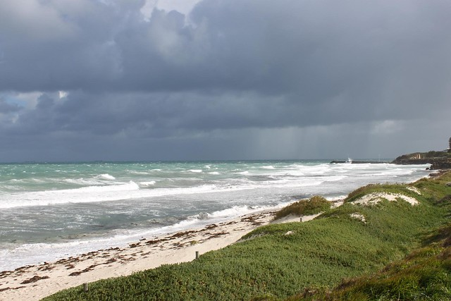 Storm at Cottesloe Beach