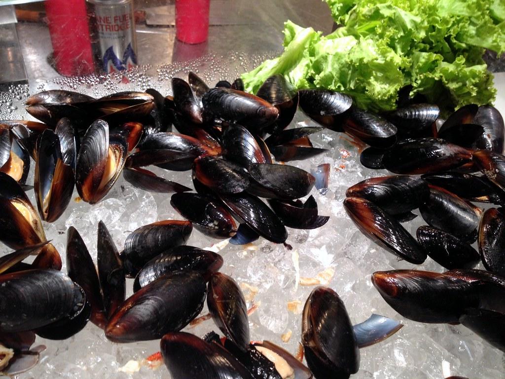 Kiseki Japanese Buffet Restaurant: Mussel Selection