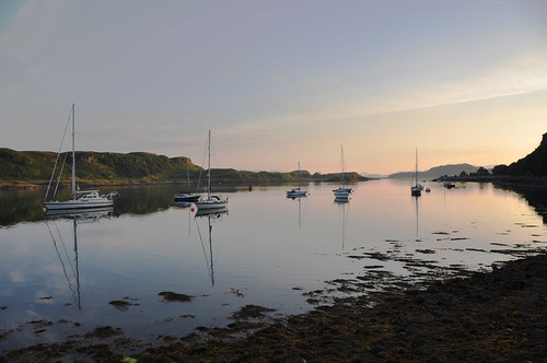 (very) early morning, Oban