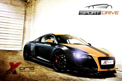 """X-Pro Performance, diseño para Sportdrive """"Escuela de conducción"""""""