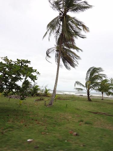 Costa Rican beach on the way to Panama