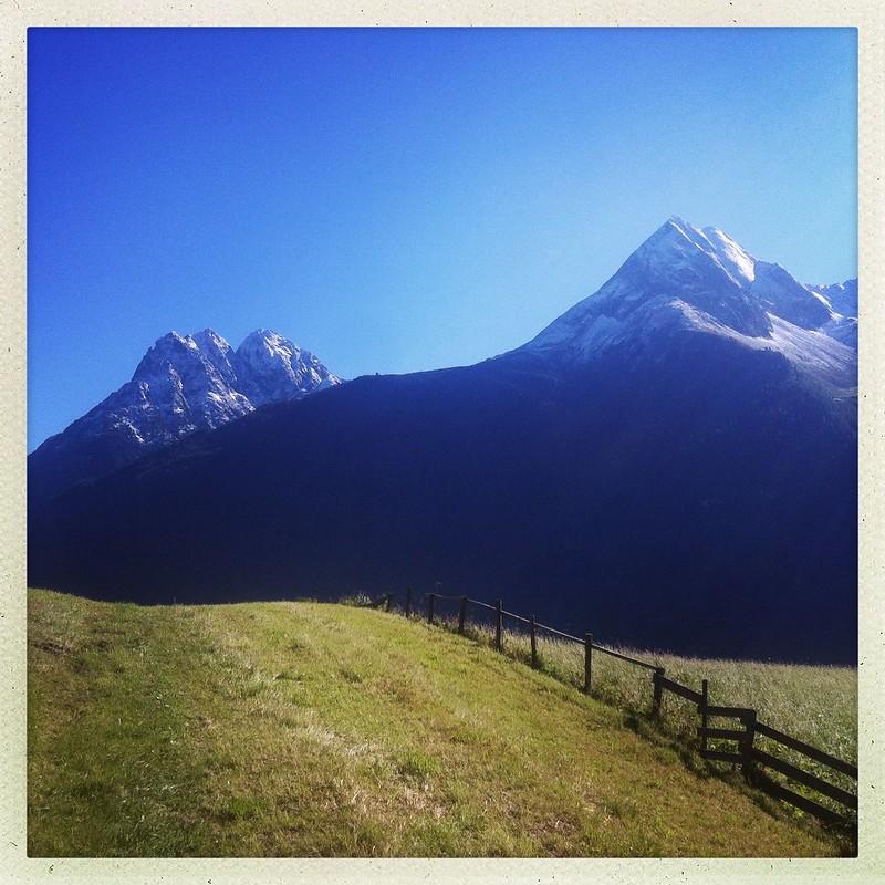 tyrol, austria, september 2012