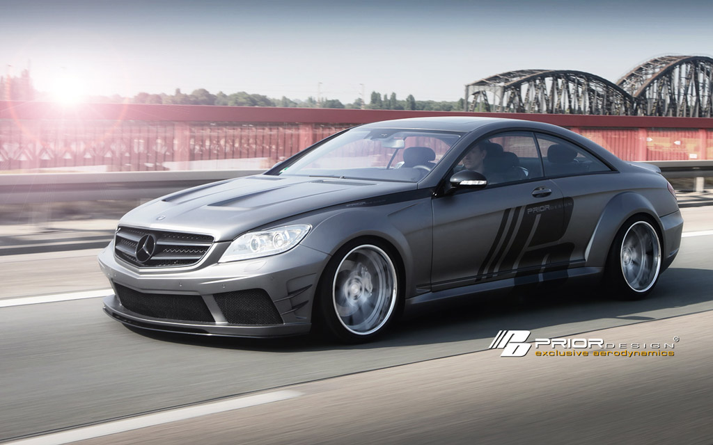 Mercedes benz cl w216 pd black edition v2 widebody for Mercedes benz cl 240