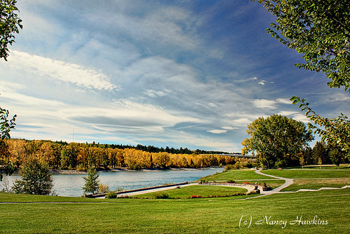 Baker Park, Calgary by Nancy Hawkins