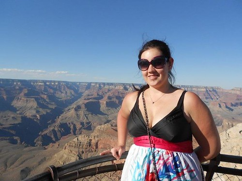 Renee Pappagallo at the Grand Canyon