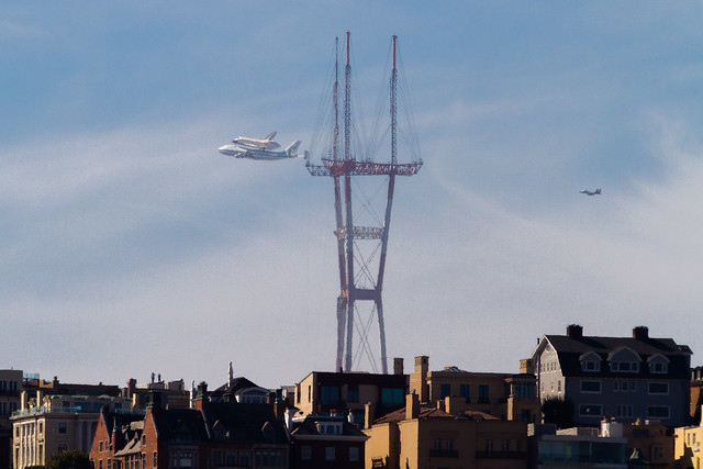 Space Shuttle vs the Space Needle