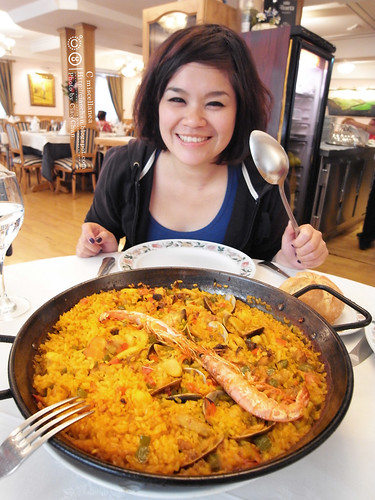 Hola Madrid~ 馬德里。La Panera 餐廳,花  €114  吃大餐!!!!!  R1043934