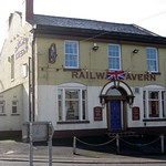 Old Skelmersdale - The Railway Tavern  so called because it was next to the station