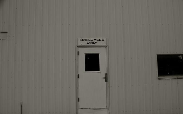 Employee Entrance, Popcorn Plant