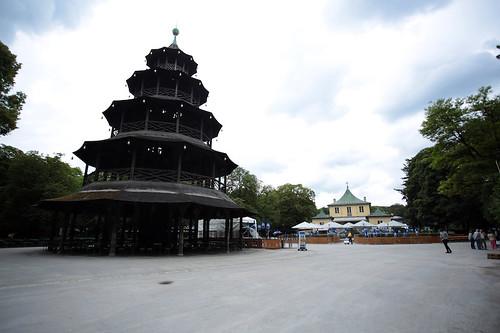 Englischer Garten: la torre cinese