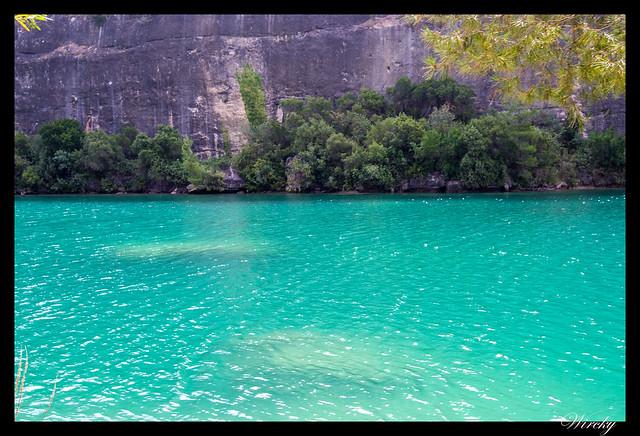 Río Guadiela en embalse de Bolarque