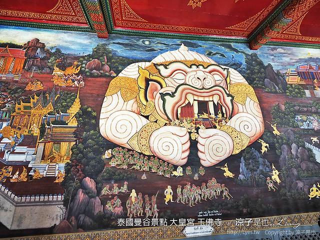 泰國曼谷景點 大皇宮 玉佛寺  65