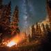 Camfire under the stars. by Joh nny1