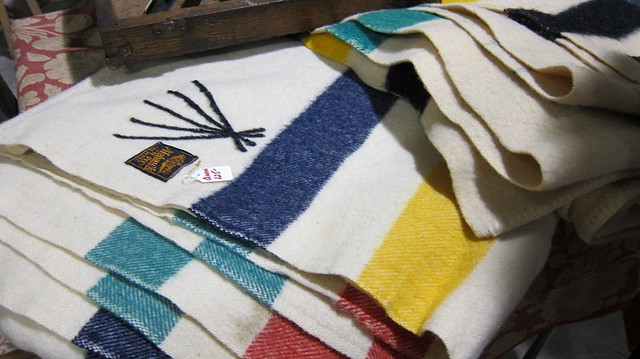 Hudson's Bay blankets