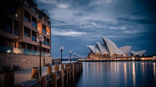 city longexposure clouds sunrise cloudy sydney australia newsouthwales therocks canoneos sydneyoperahouse 50d dawespoint brokencloud sigma1750mmf28exdcos