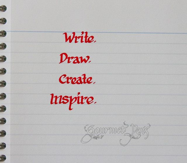 Write. Draw. Create. Inspire.