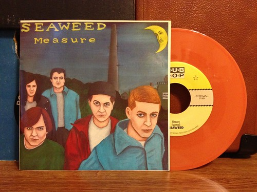 "Seaweed - Measure 7"" - Orange Vinyl by Tim PopKid"