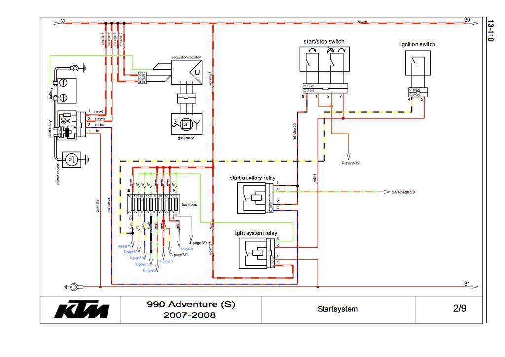 Fine Ktm Wiring Schematics Wiring Diagram Wiring Cloud Nuvitbieswglorg