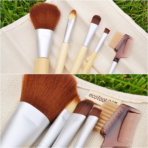 Eco tools makeup brushes