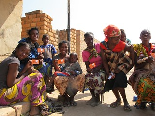 Mothers with Kit Yamoyo Vouchers