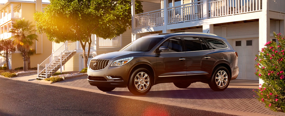 The all-new 2013 Buick Enclave